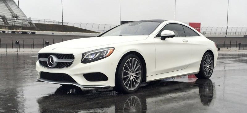 First Drive Review - 2015 Mercedes-Benz S550 Coupe 34