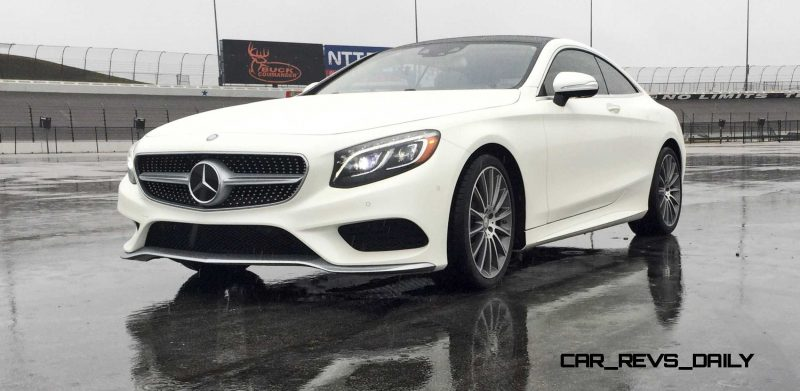 First Drive Review - 2015 Mercedes-Benz S550 Coupe 36