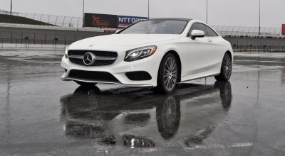 First Drive Review - 2015 Mercedes-Benz S550 Coupe 38