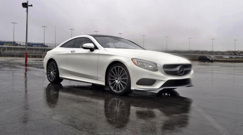 First Drive Review - 2015 Mercedes-Benz S550 Coupe 42