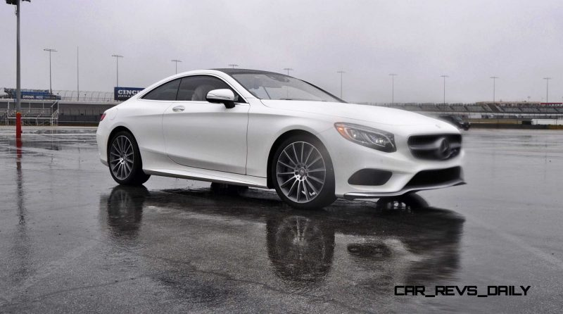 First Drive Review - 2015 Mercedes-Benz S550 Coupe 43