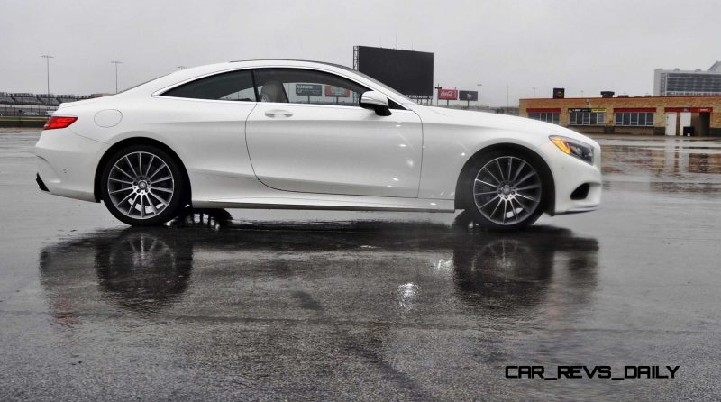 First Drive Review - 2015 Mercedes-Benz S550 Coupe 45