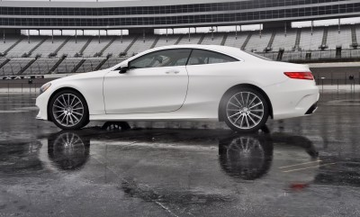 First Drive Review - 2015 Mercedes-Benz S550 Coupe 61