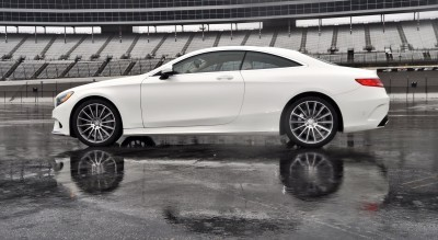 First Drive Review - 2015 Mercedes-Benz S550 Coupe 62