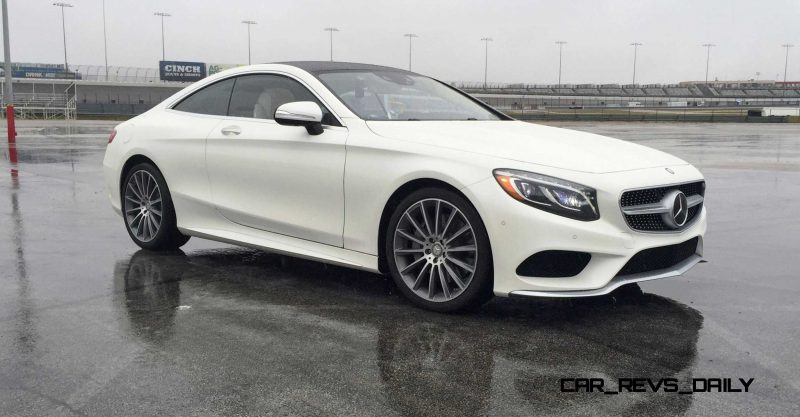 First Drive Review - 2015 Mercedes-Benz S550 Coupe 7
