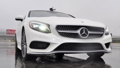 First Drive Review - 2015 Mercedes-Benz S550 Coupe 78
