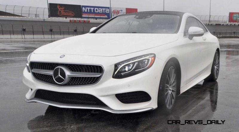 First Drive Review - 2015 Mercedes-Benz S550 Coupe 85