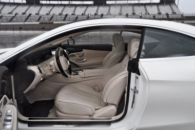 First Drive Review - 2015 Mercedes-Benz S550 Coupe 89
