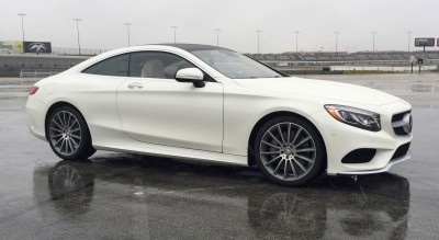 First Drive Review - 2015 Mercedes-Benz S550 Coupe 9
