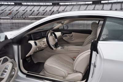 First Drive Review - 2015 Mercedes-Benz S550 Coupe 90