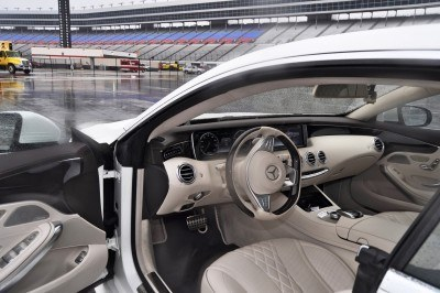 First Drive Review - 2015 Mercedes-Benz S550 Coupe 92
