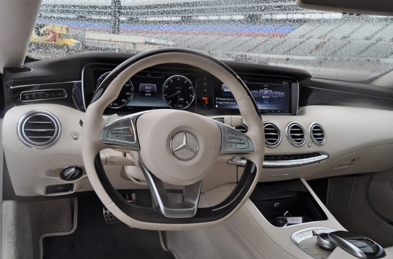 First Drive Review - 2015 Mercedes-Benz S550 Coupe 96