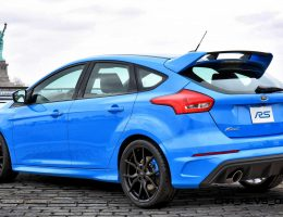 2016 Ford Focus RS Escapes Auto Show Cage to See NYC Sights