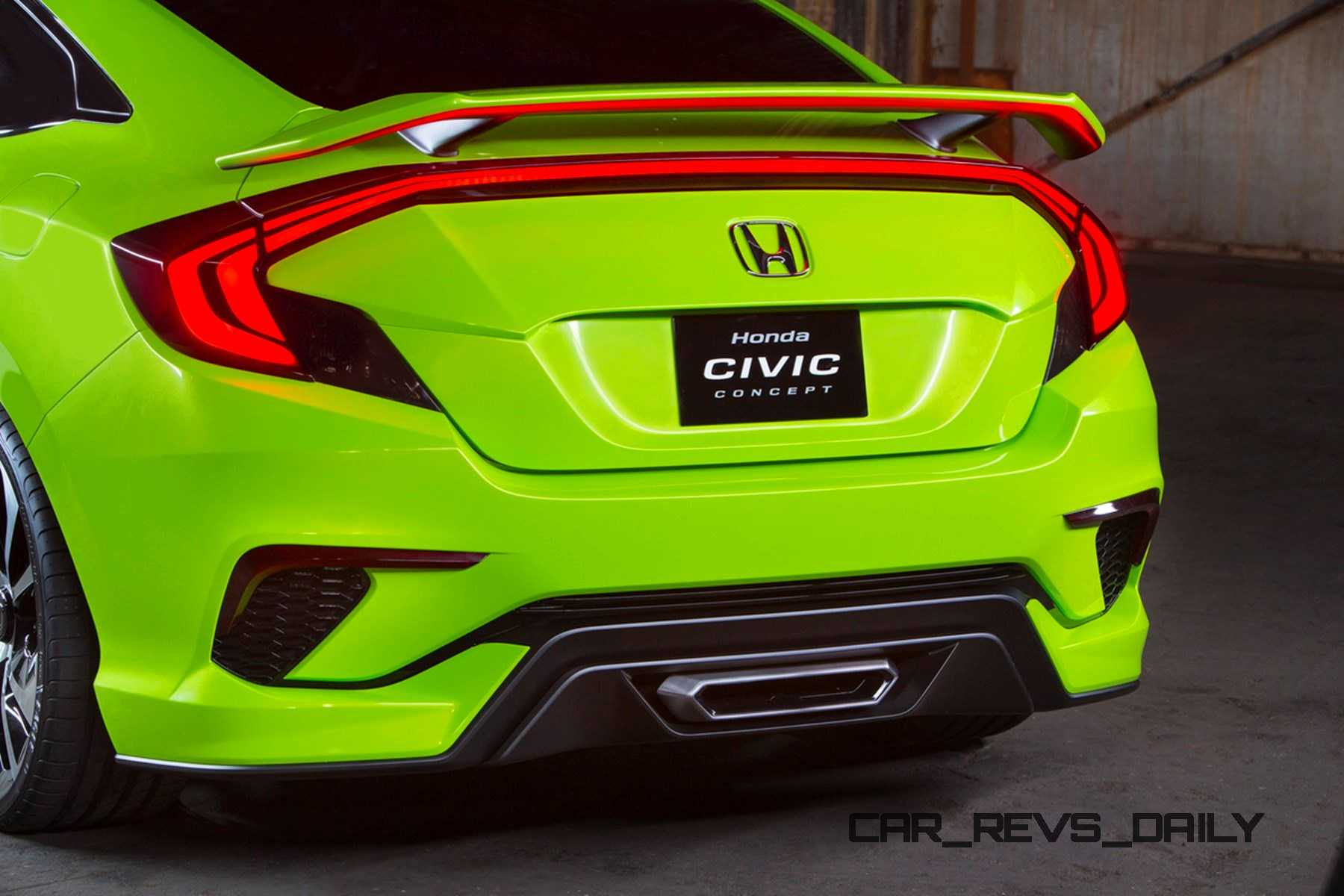 R And S Auto >> Honda Civic Coupe Concept