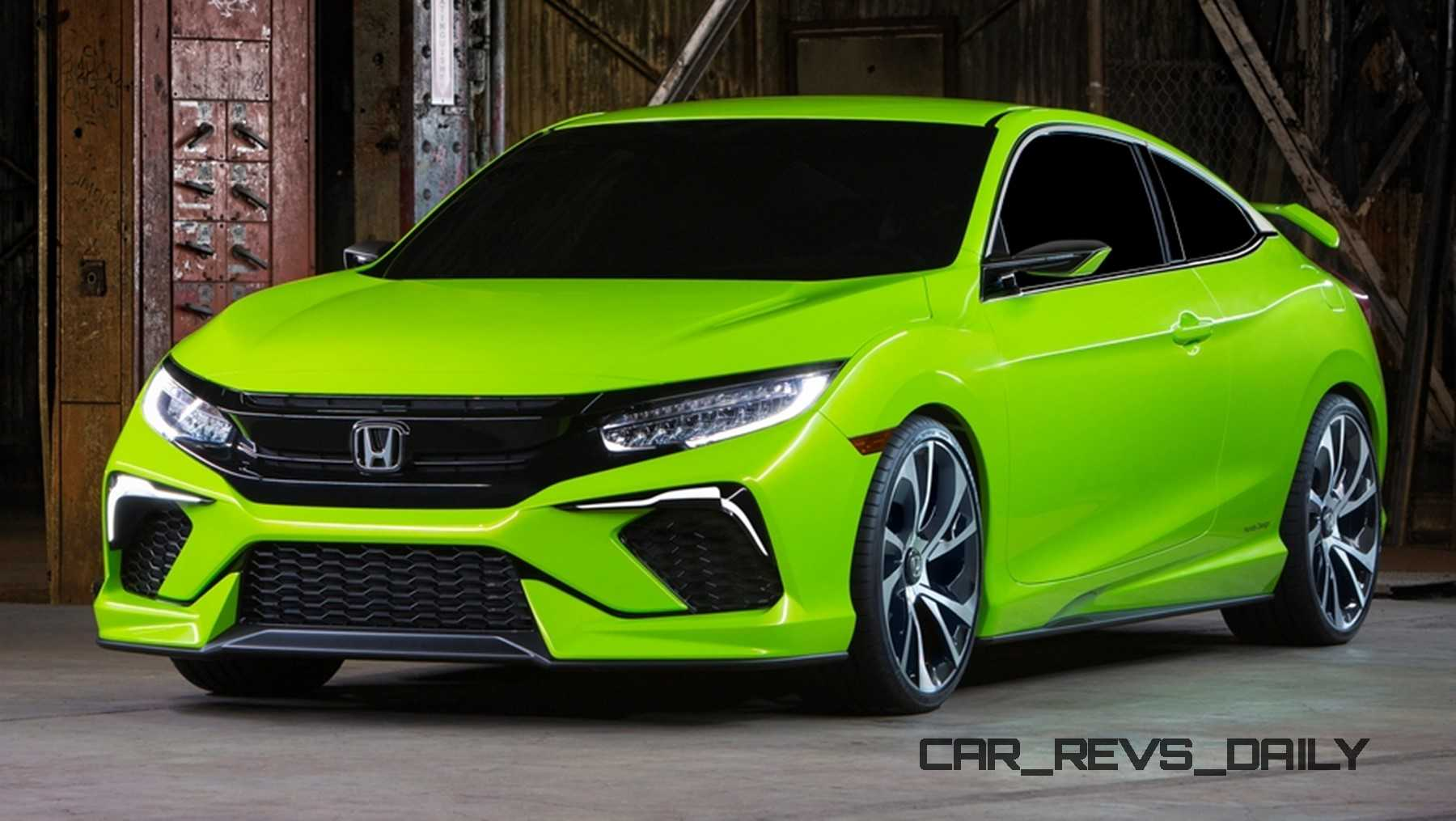 10th Gen Civic >> Honda Civic Coupe Concept
