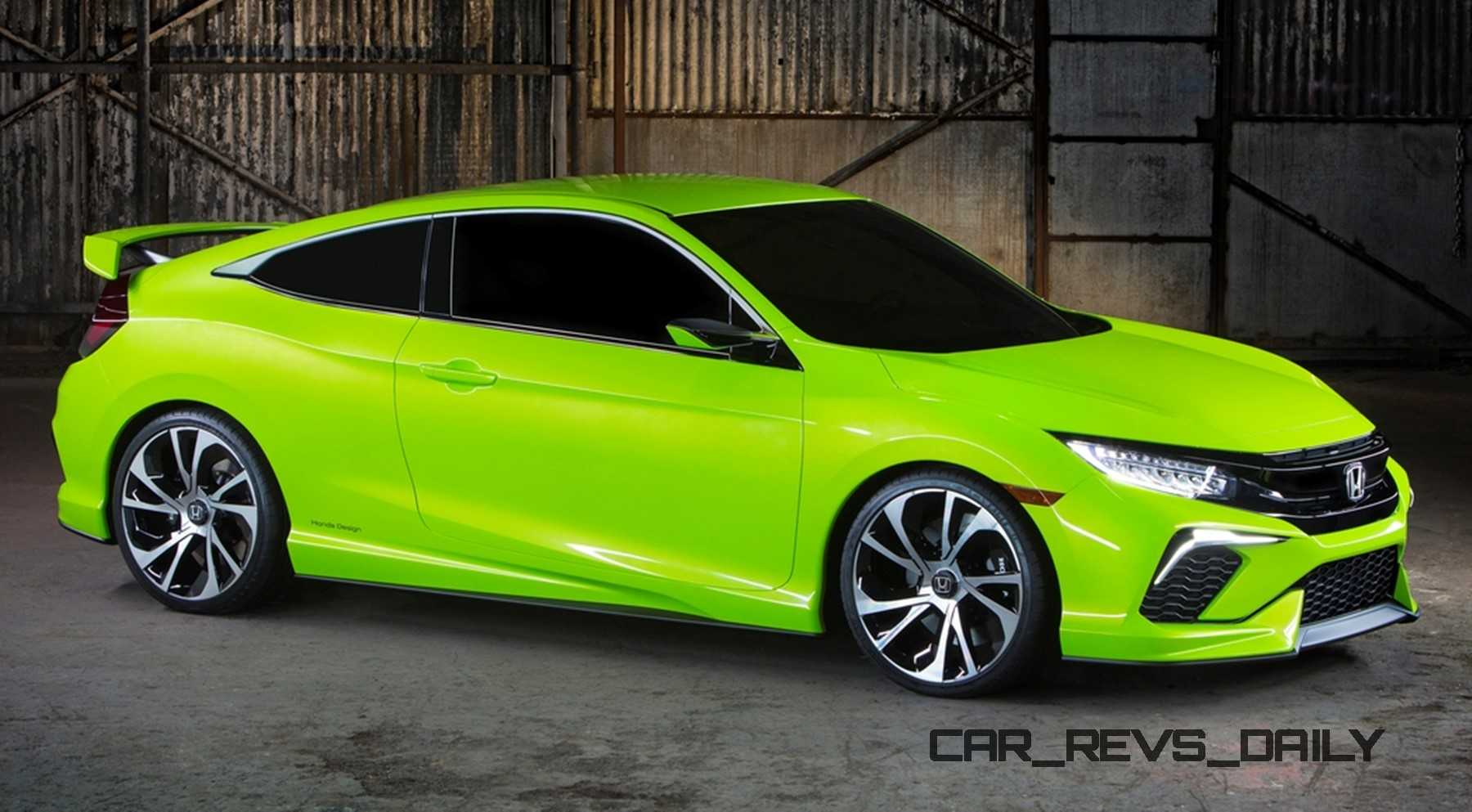 Honda North America >> Honda Civic Coupe Concept