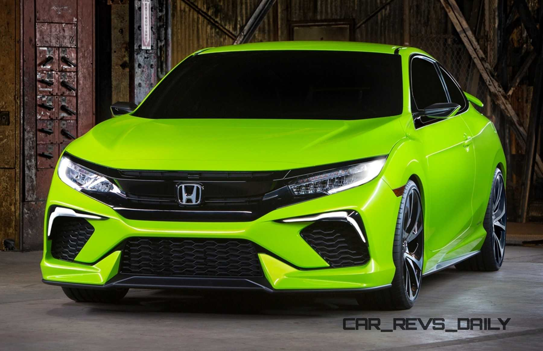 Honda Civic 10Th Gen >> Honda Civic Coupe Concept