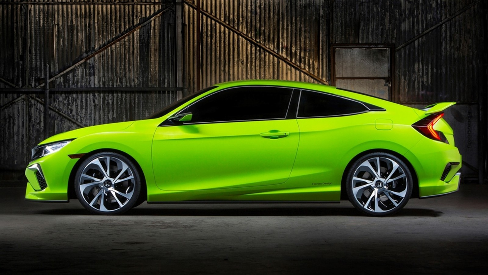 Gen 10 honda civic coupe concept car revs for Future honda cars