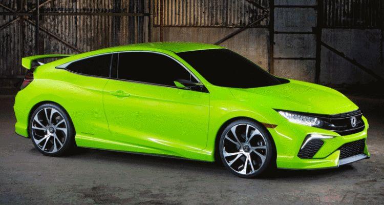 Gen-10 Honda Civic Coupe Concept