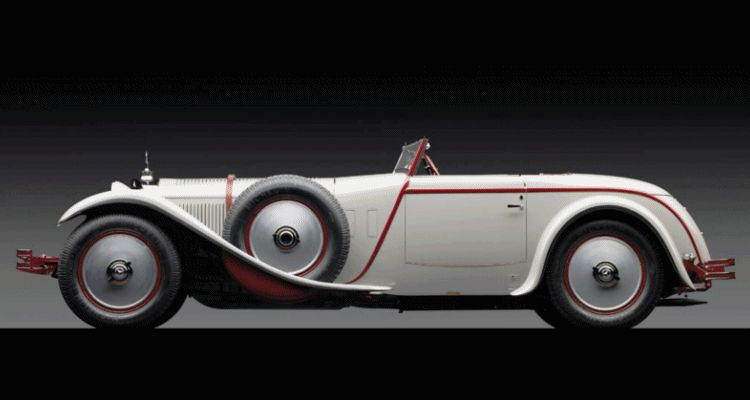 Hall of Fame - 1928 Mercedes-Benz 680S Torpedo Roadster by Carrosserie J. Saoutchik
