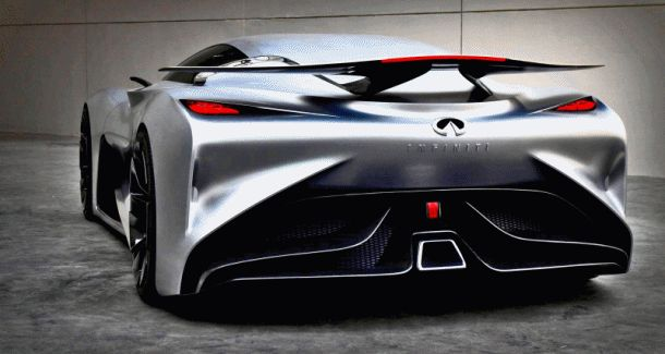 INFINITI Vision GT Makes Real-Life Debut - Headed to Pebble Beach 2015