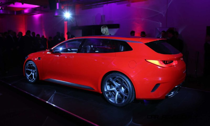 Kia SPORTSPACE Concept - Unveil Event-64034