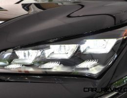 LEDetails – 2015 Lexus NX300h – Up Close with the Triple-Beam LED Lights
