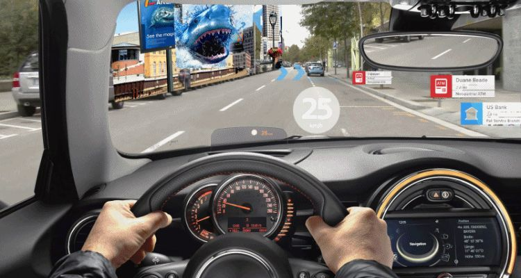 MINI Augmented Vision Concept Preview Future SuperTech Driving Possibilities