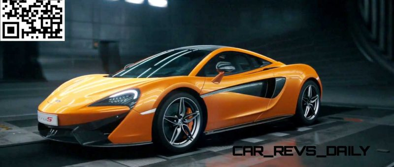 McLaren Black Swan Wind Tunnel 570S 45