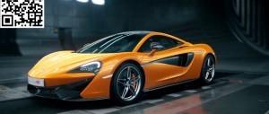 McLaren Black Swan Wind Tunnel 570S 46