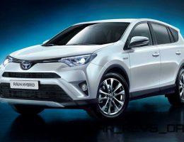Refreshed 2016 Toyota RAV4 and New RAV4 Hybrid Make NY Debut