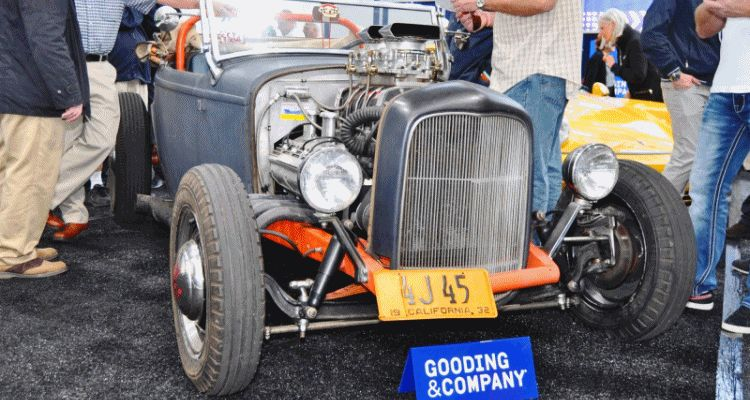 Original 1932 Ford Roadster Is 'Dry Lakes' Bonneville Speed Racer
