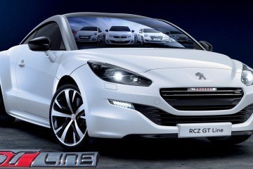 2015 Peugeot GT Line Is Glossy Black/White Style Upgrade for 7 Models