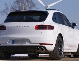 Porsche Macan Diesel with KAEGE.de Active Exhaust Sounds Like V8 Racecar!