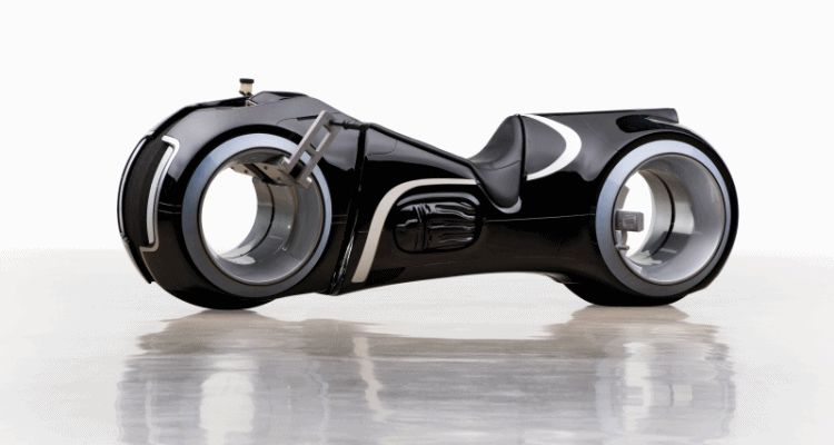 RM Andrews 2015 - Real TRON Light Cycle EV Bike