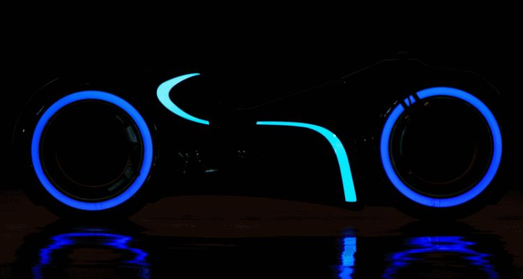 RM Andrews 2015 - Real TRON Light Cycle
