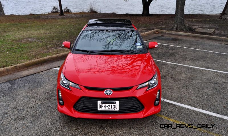 Road Test Review - 2015 Scion tC 6-Speed With TRD Performance Parts 107