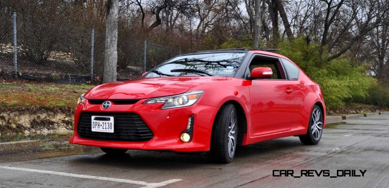 Road Test Review - 2015 Scion tC 6-Speed With TRD Performance Parts 23