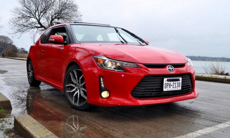 Road Test Review - 2015 Scion tC 6-Speed With TRD Performance Parts 48