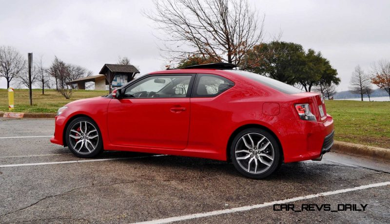 Road Test Review - 2015 Scion tC 6-Speed With TRD Performance Parts 82