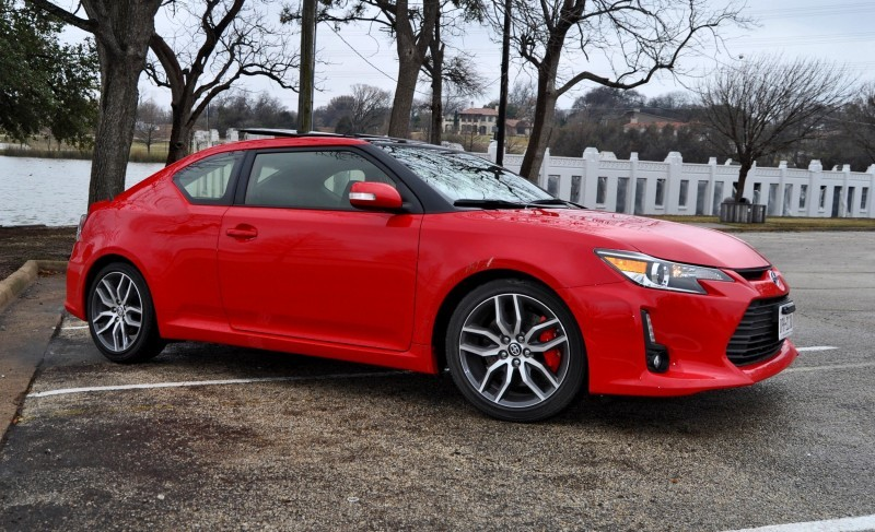 Road Test Review - 2015 Scion tC 6-Speed With TRD Performance Parts 93