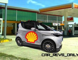 Shell Oil and Gordon Murray Partnering on Project M for Reborn T.25 City Car