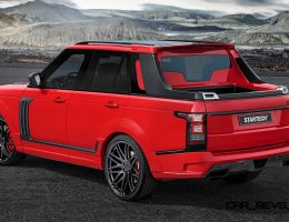 BRABUS StarTech Range Rover Pickup Truck to Debut in Shanghai