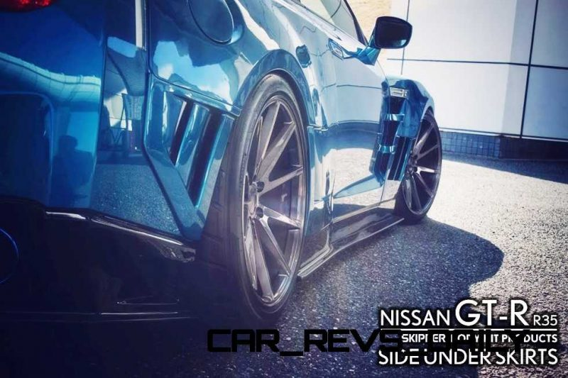 SuperTuner Showcase - 2015 Nissan GT-R by SKIPPER ft. Vossen VFS1 Forged Alloys 46