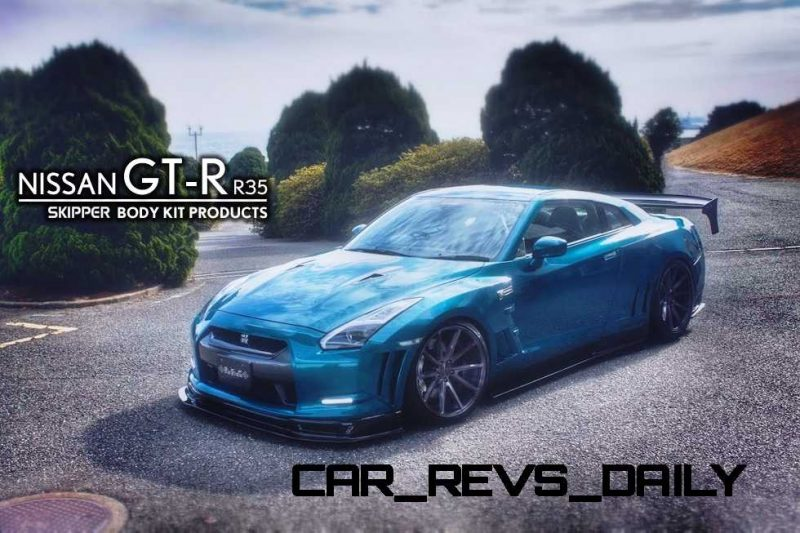 SuperTuner Showcase - 2015 Nissan GT-R by SKIPPER ft. Vossen VFS1 Forged Alloys 52