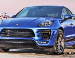 Porsche Macan Widebody by TOPCAR Is Carbon-Kevlar SuperTruck!