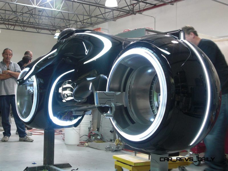 TRON Legacy motorcycle 2