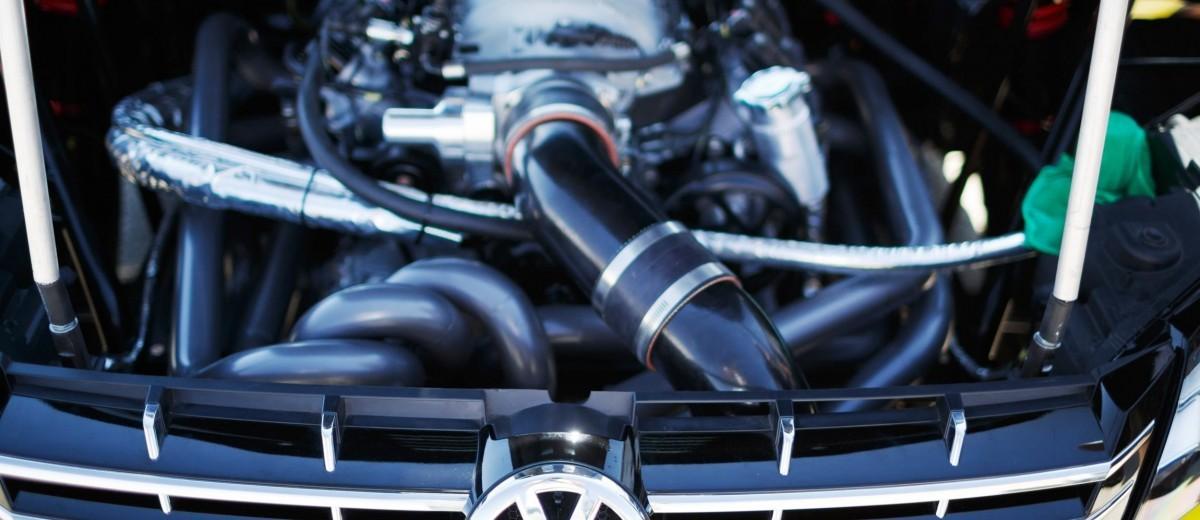 Tanner Foust VW Passat Formula Drift Car 1