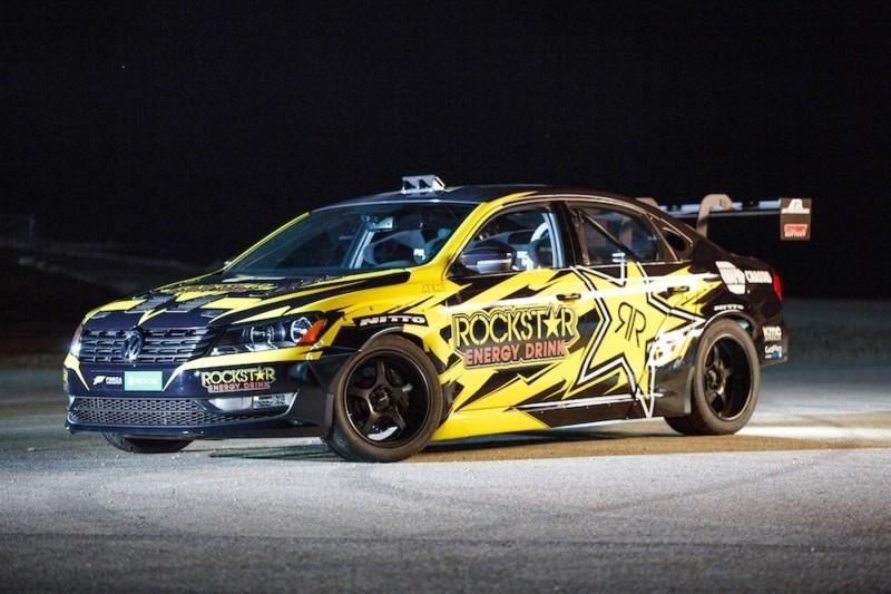 Tanner Foust VW Passat Formula Drift Car 16