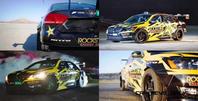 Tanner Foust VW Passat Formula Drift Car 18-tile